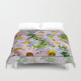 DAISEY MADNESS ABSTRACT  Duvet Cover