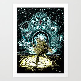 Into the Gate! Art Print