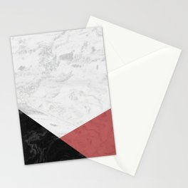 MARBLE INFERIOR Stationery Cards