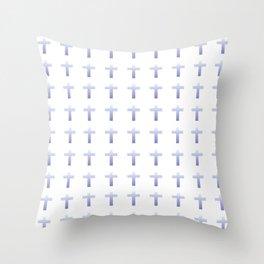 Christian Cross 50 Throw Pillow
