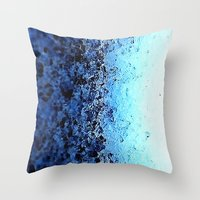 crystals Throw Pillows featuring CrystalS by 2sweet4words Designs
