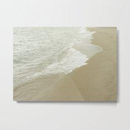 Edge of the ocean Metal Print