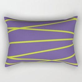 Violet Funk Rectangular Pillow