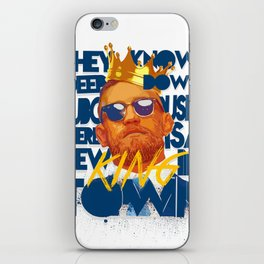 King of the Ring iPhone Skin