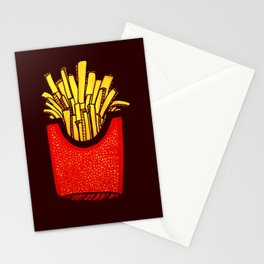 Would you like some fries with that? Stationery Cards