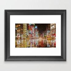 Tokyo In Art Framed Art Print