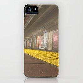 Motion Blur Granville Skytrain 3 iPhone Case