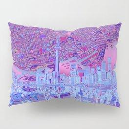 toronto city skyline Pillow Sham