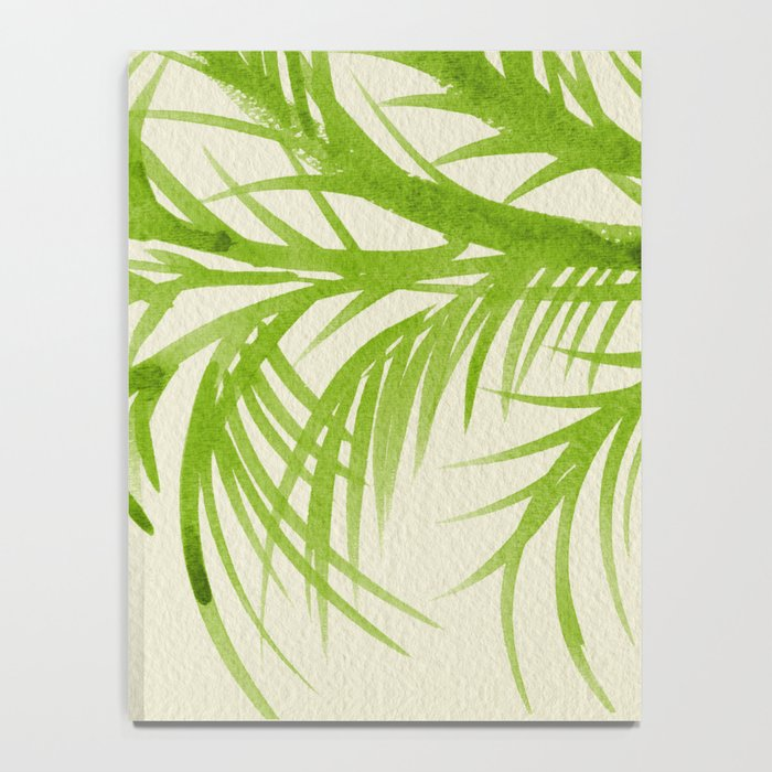 Lime Palms Notebook