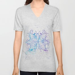 Butterfly Abstract G540 Unisex V-Neck