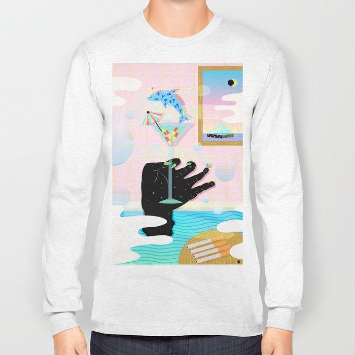 get weird Long Sleeve T-shirt