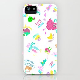 Tropical Yummy iPhone Case