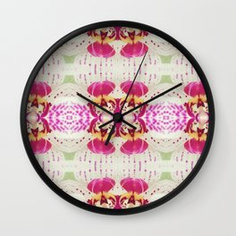 Flower Series I [Orchid] Wall Clock