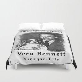 Vera Bennett Duvet Cover