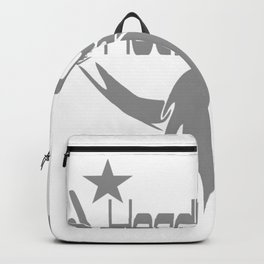 Headbanger  Funny Backpack