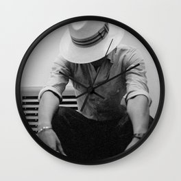 Let Me Think first Wall Clock