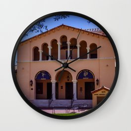Annie Russell Theatre Rollins College Winter Park Central Florida Orlando Theater Wall Clock