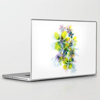 fireworks Laptop & iPad Skins featuring Fireworks by La Rosette Illustration