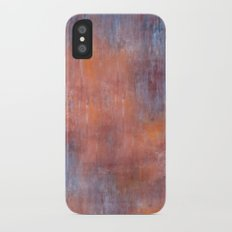 Orange Color Fog iPhone X Slim Case
