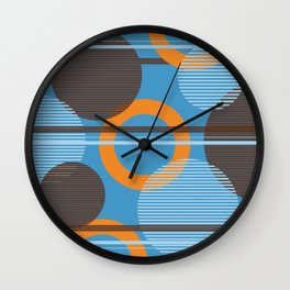 Navel Planets Wall Clock