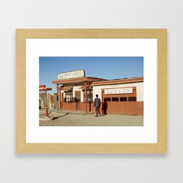 Time Machine 2 Framed Art Print