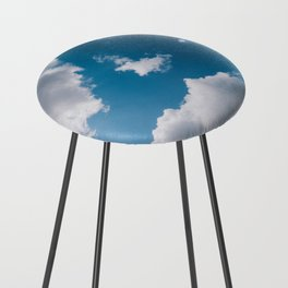 turtle cloud Counter Stool