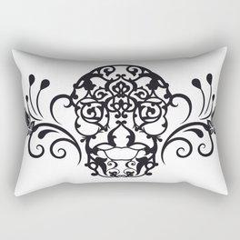 SKULL FLOWER 04 Rectangular Pillow