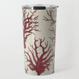 Naturalist Red Coral Travel Mug