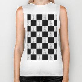 Checkerboard Pussy Biker Tank