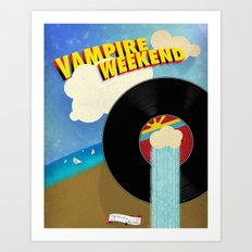 Vampire Weekend - Chicago Art Print