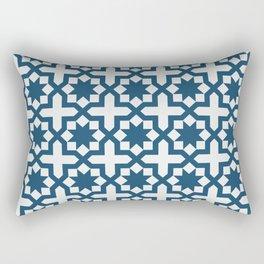 Retro Blue Stars And Cross Decorative Home Decor Design Rectangular Pillow