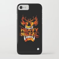 heavy metal iPhone & iPod Cases featuring Heavy Metal by Lindsay Spillsbury