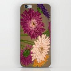 Gerberas iPhone & iPod Skin