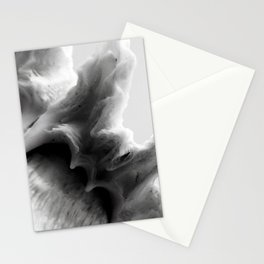 B&W Shell Wave Stationery Cards