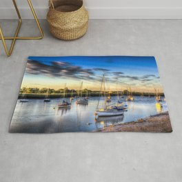 River at Sunset Rug