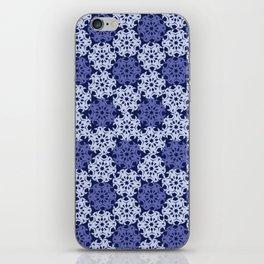Geometric Snowflakes V6 iPhone Skin