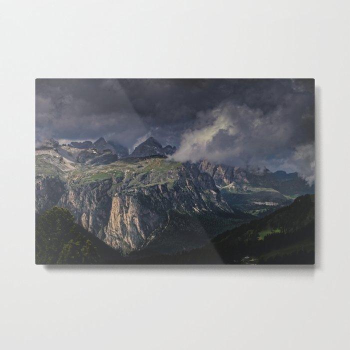 Rugged Terrain Metal Print