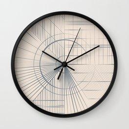 Hicoordinates Wall Clock