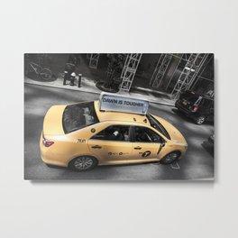 DAWN Taxi in NY Metal Print