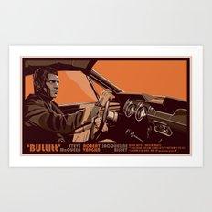 BULLITT - 01 Art Print
