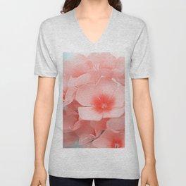 Pink Blossom Unisex V-Neck