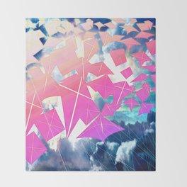 Easter Kites Throw Blanket