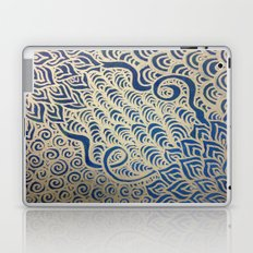 Dual Blooms Laptop & iPad Skin