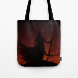 On a Mountain of Corpses Tote Bag