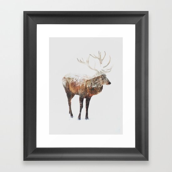 Arctic Deer by andreaslie