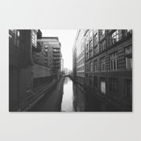 manchester Canvas Prints featuring Manchester by johnshepherdPhotography