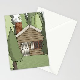 Deep in the Forest Illustration Stationery Cards