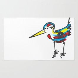 Bird sketch Rug
