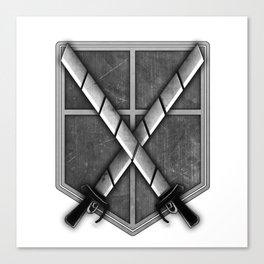 Attack on Titan; Cadet Corps Canvas Print