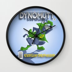 DYNOMUTT Wall Clock